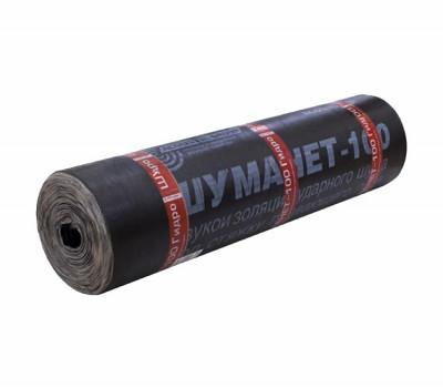 Шуманет-100 Гидро 10000х1000х5 мм (10 м²) Гидро-звукоизоляция