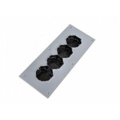 Подрозетник звукоизоляционный Ультракустик (4 секционный)