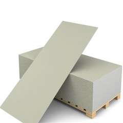 Гипсокартонный лист (ГКЛ) Кнауф обычный 1200х2500х9,5 мм