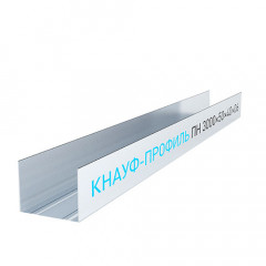 Профиль направляющий Knauf 50х40 мм 3 м 0.60 мм