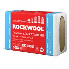 Роквул (Rockwool) Акустик Ультратонкий 27 мм