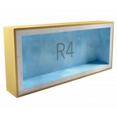 Звукоизоляционный подрозетник AcousticGyps Box R4